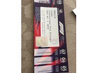 1 x silverstone ticket