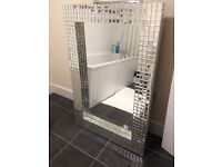 Stunning mirror tile large mirror