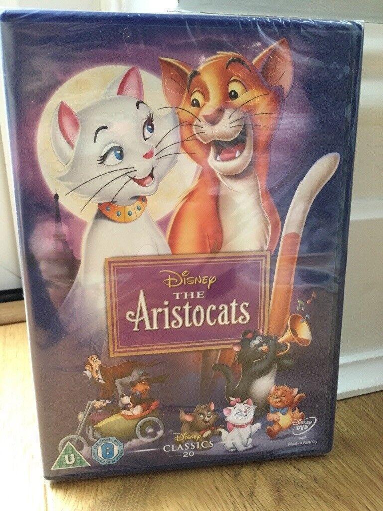 Disney The Aristocats DVD new unopened
