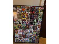 DC Comics framed wall art £10