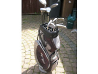 Golf Clubs & trolley for sale