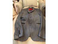 Men's grey suit from Zara