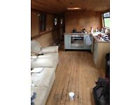 Gorgeous 1 bedroom barge wide beam