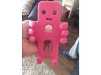 Pink car phone holder