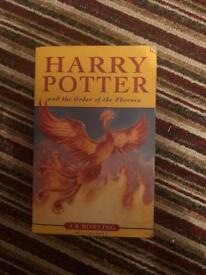 Harry Potter and the order of the pheonix collectible book