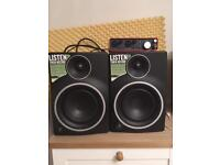 MR5 MK3 mixing Monitors (pair)