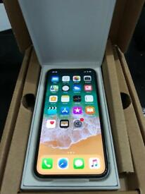 IPHONE X 256GB BRAND NEW white silver