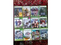 15 XBOX 360 Games in Good Condition for only £30