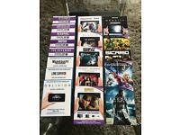 Ultraviolet movie codes. 17 codes