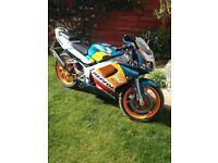 Honda NSR 125cc sports bike motorbike motorcycle 1years mot
