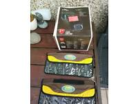 Fishing lure bag/box and 2 x lure pouches, new