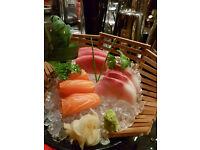 waitress/waiter for modern Japanese/Asian/Fusion restaurant and bar near Chelsea Harbour