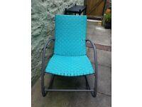Garden rocking chair
