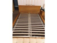 Ikea Double bed with Dreams Mattress