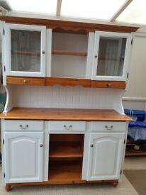 Dresser/pine/display cabinet