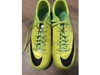 Nike Mercurial Astroturf Boots size uk 10