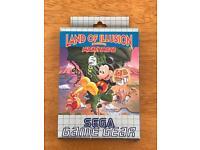 Sega Game Gear Land Of Illusion