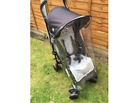 As new Maclaren Quest umbrella folding buggy
