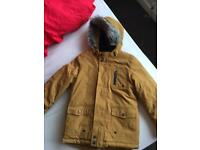 Boys coat. Age 9-10 Years immaculate condition ideal for school