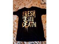Drop Dead Fresh Till Death Rare Top