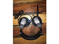 Corsair vengeance blue 1500 usb gaming headset.