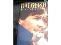 DALGLISH - MY AUTOBIOGRAPHY - HARDBACK 227 PAGE BOOK IN V.G.C.