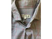 Reiss plaid shirt - great condition