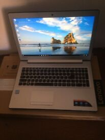 Lenovo laptop , almost new with the box and receipt