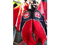 Montesa xl trousers and top