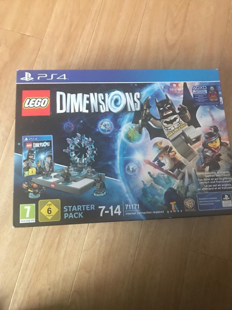 PS4 Lego dimensions starter kit