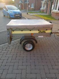 4x3 franc tippee trailer like new £150