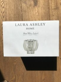 "Laura Ashley ""Aria"" Wall Light - Brand New & Still Boxed"