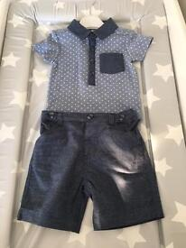 Baby boy outfit 6-9 month NEW