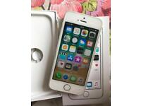 iPhone 5S 02 - Giffgaff silver Excellent condition