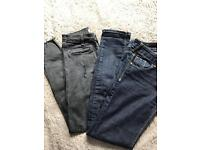 River Island skinny jeans size 8
