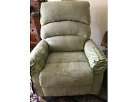 Recliner chair Green CareCo Augusta