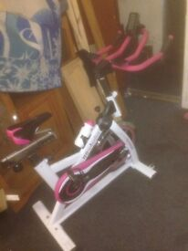 Gym equipment weight bench loads of weights perofesionl punch bag ect message me for details