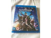 New and sealed Guardians of the Galaxy Blu Ray