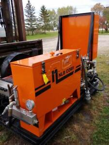 NLB Corp High Pressure Water Blasting System, Model # 475E, 4000 PSI, 75HP, 575V