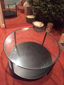 IKEA VITTSJÖ Coffee table - Black/Brown - RRP£35 - £10!!!