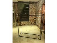 Small Heavy Duty Garment Rail Shop Display Wardrobe Clothes