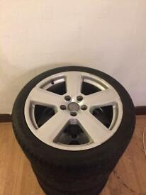 "Audi 18"" genuine s line wheels £300 price drop"