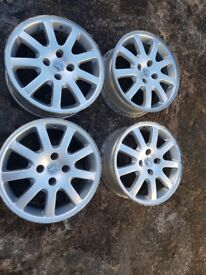 16 inch Peugeot Ouragan alloys x 4 Fitment 4x108