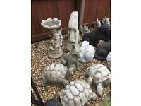 Stone garden statues from £10 to £90