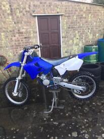 Yamaha yz125 mx bike