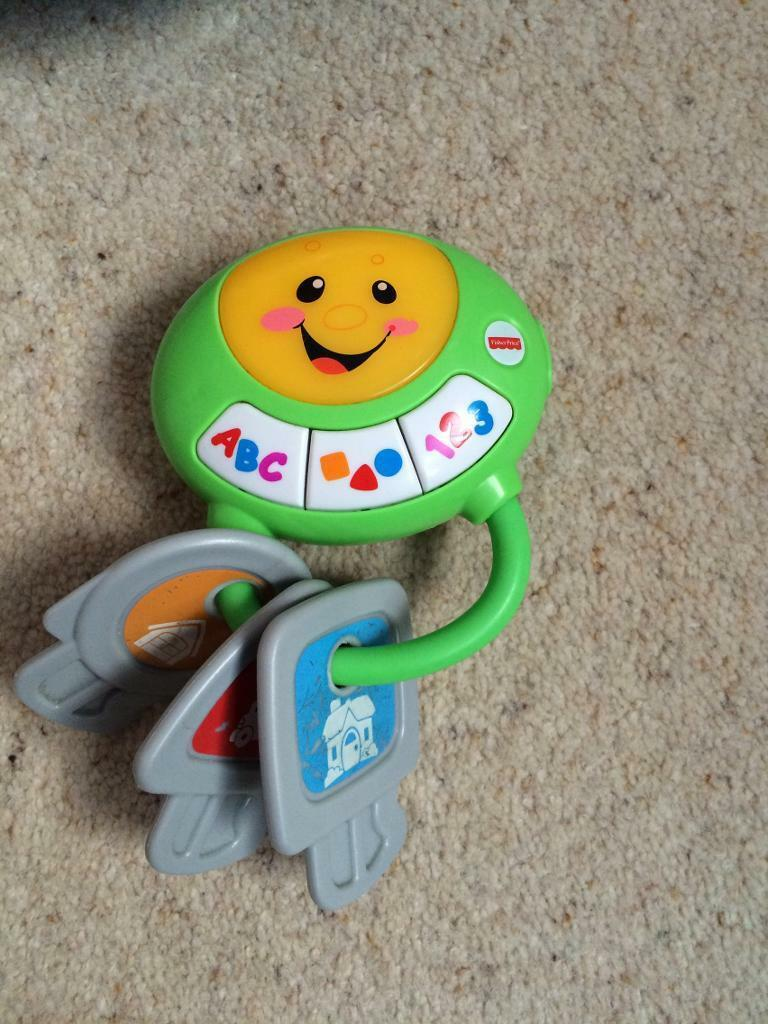 Fisher price lights and sound toy keys