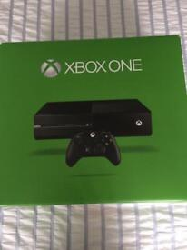 XBOX ONE, 500gb, 1 controller, 5 games, £160