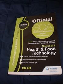 SQA National 5 Health & Food technology