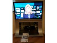 Plasma Television 36 inch with built in stand