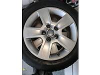 Audi alloys Micheline tyres 205/55 r 16